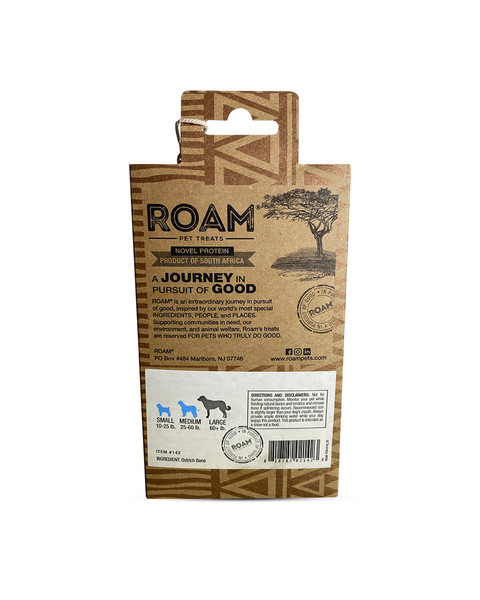ROAM Smoked Marrow Bone for dogs