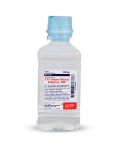 Saline for Irrigation Bottle