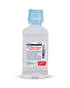 Saline for Irrigation Bottle