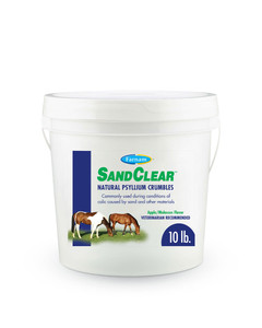 SandClear intestinal supplement for horses by Farnam