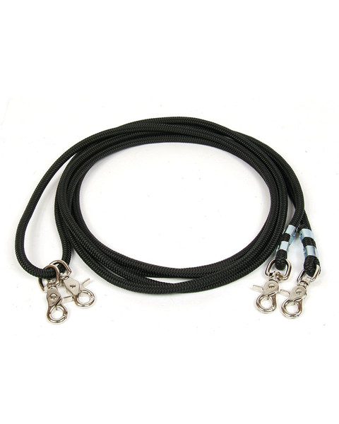 Schutz Cord Rope Draw Reins by Professional's Choice