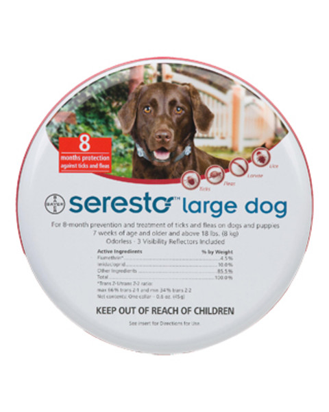 Seresto Flea And Tick Collar For Dogs Farmvet