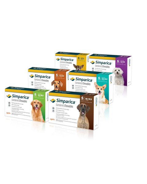 Simparica Tablets for dogs