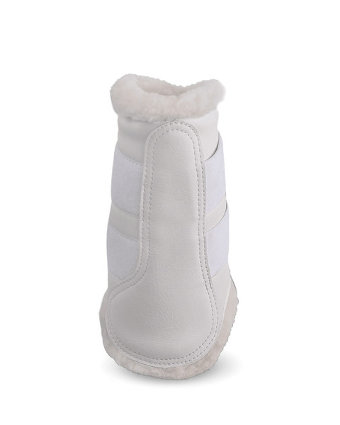 Soft Dressage Schooling Boots White