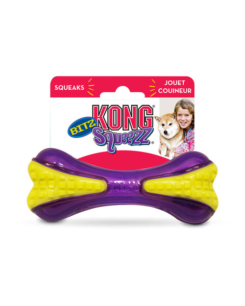 Kong Squeezz Bitz Bone for dogs