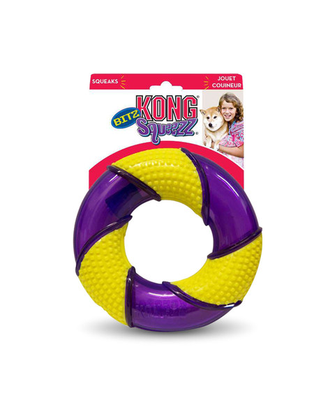 Kong Squeezz Bitz Ring for dogs