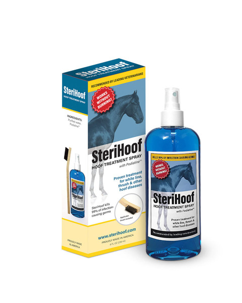 SteriHoof Hoof Treatment Spray by MacKinnon Ice Horse