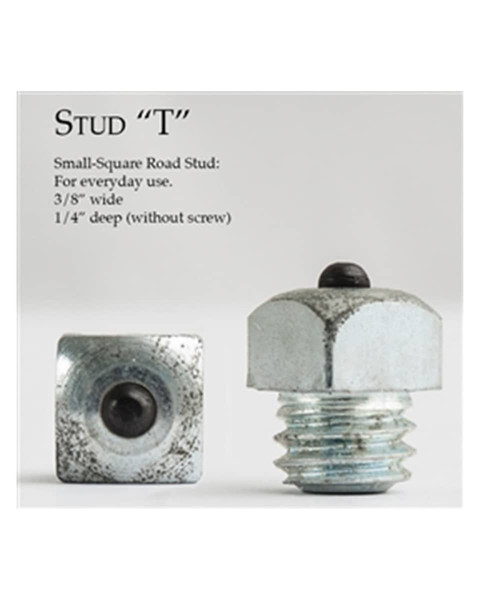 Stud Small Square Road - T Stud