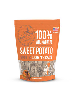 Sweet Potato Bites for dogs