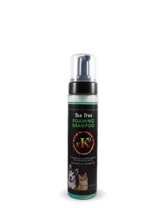 Tea Tree Foaming Shampoo for pets