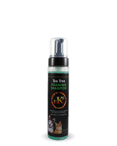 Tea Tree Foaming Shampoo for pets