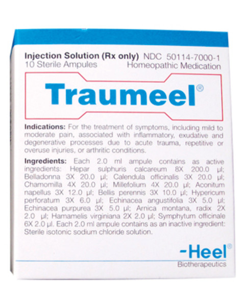 traumeel injection
