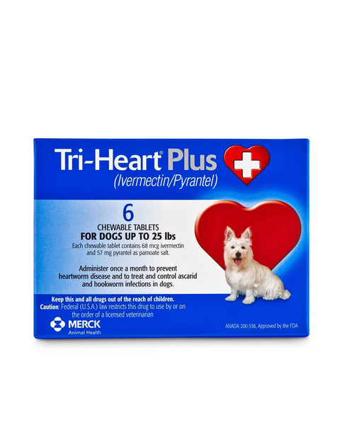 Tri-Heart Plus Chewable Tablets for dogs