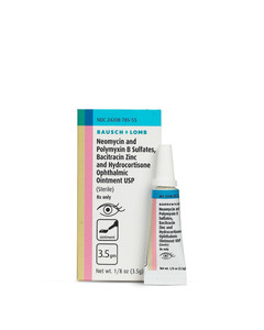 Triple Antibiotic Eye Ointment with HydroCortisone