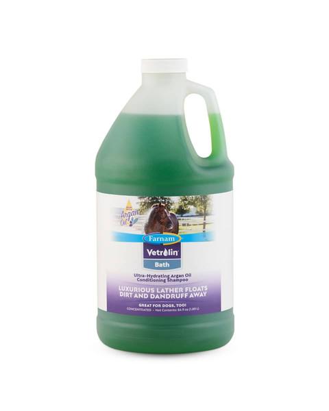 Vetrolin Bath conditioning shampoo for horses from Farnam
