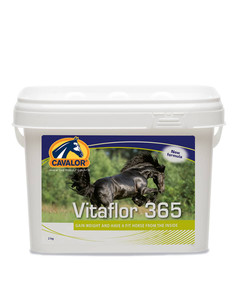 Cavalor Vitaflor 365 equine digestive supplement