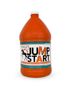 Vitalize JumpStart liquid nutritional supplement for horses by BioZyme