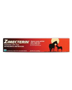 Zimectrin equine dewormer